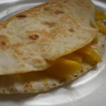 Sweet and Spicy Mango Quesadilla