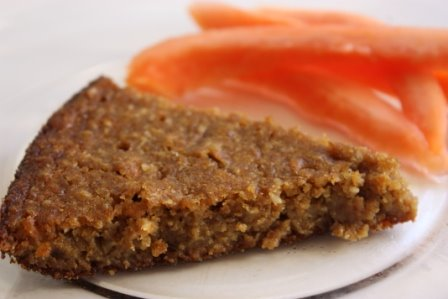 Papaya Breakfast Cake Recipe