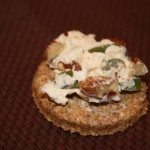 Olive Blue Cheese Pecan Spread