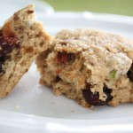 Cherry Lemon Pistachio Scones
