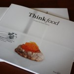 The Thinkfood Cookbook Is Here!