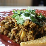 Potato, Chickpea and Lentil Curry