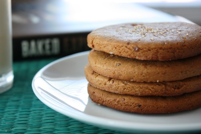 Baked Explorations: Ginger Rum Molasses Cookies | Fake Food Free