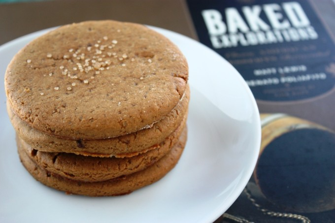 Baked Explorations: Ginger Rum Molasses Cookies