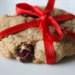 Whole Wheat Double Chocolate Cranberry Cookies
