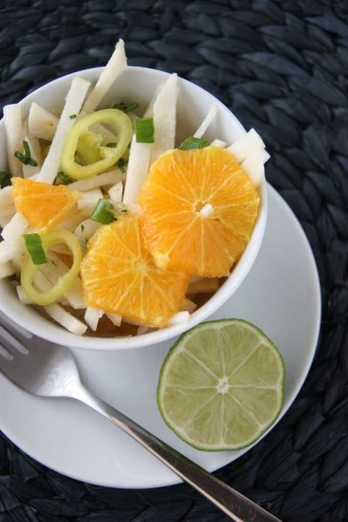 Citrus Jicama Salad | Fake Food Free