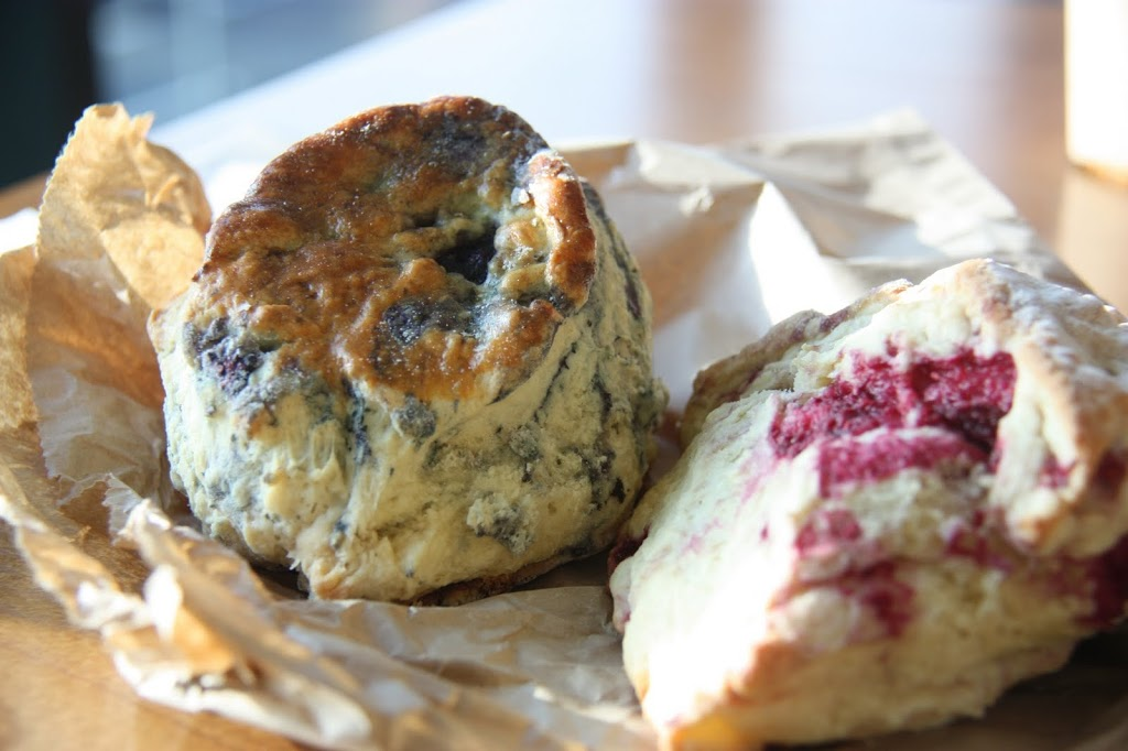 Blueberry and Raspberry Scones in Belfast