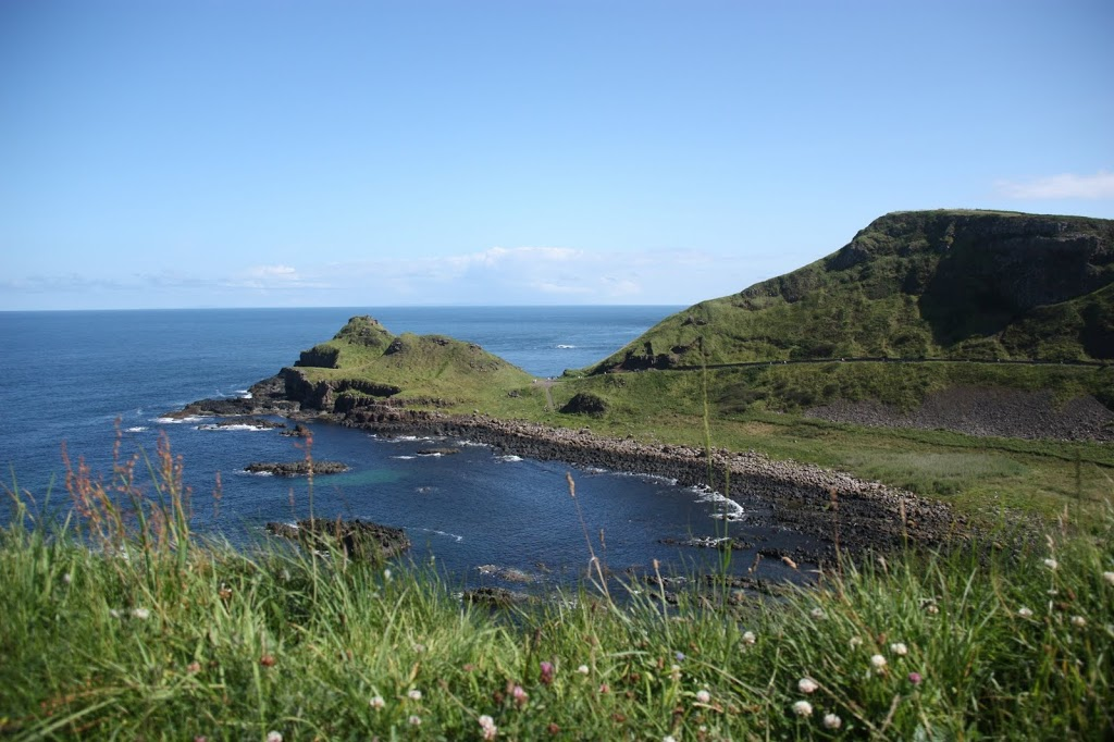 Coast near Giant's Causeway in Northern Ireland