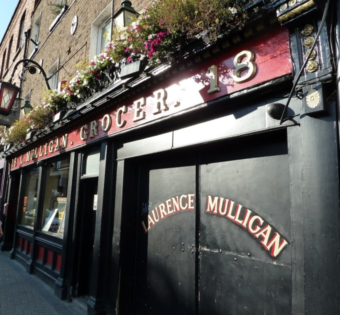 L. Mulligan Grocer in Dublin | Fake Food Free | Food and Travel