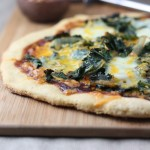 Barbecue Kale and Onion Pizza