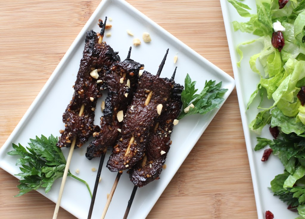Grilled Tamarind Beef Satay Recipe | Fake Food Free
