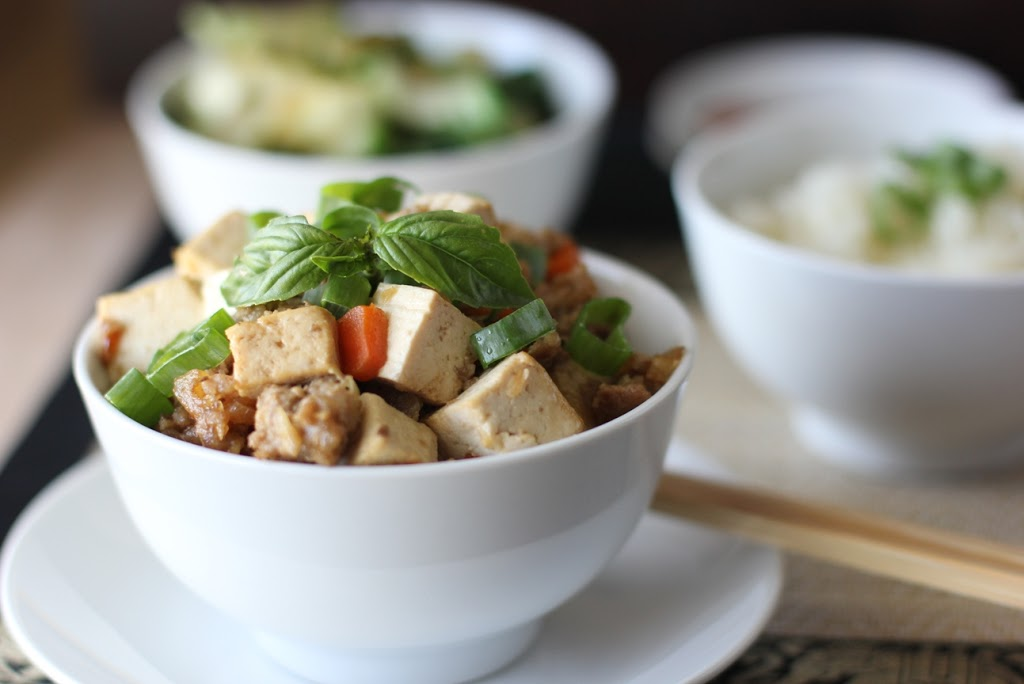 Bean Curd and Prawn Stew from Building a Perfect Meal by Michelle Tchea