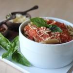 Grilled Marinara Pasta Recipe