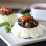 Black Rice and Sausage Stuffed Patty Pan Squash Recipe