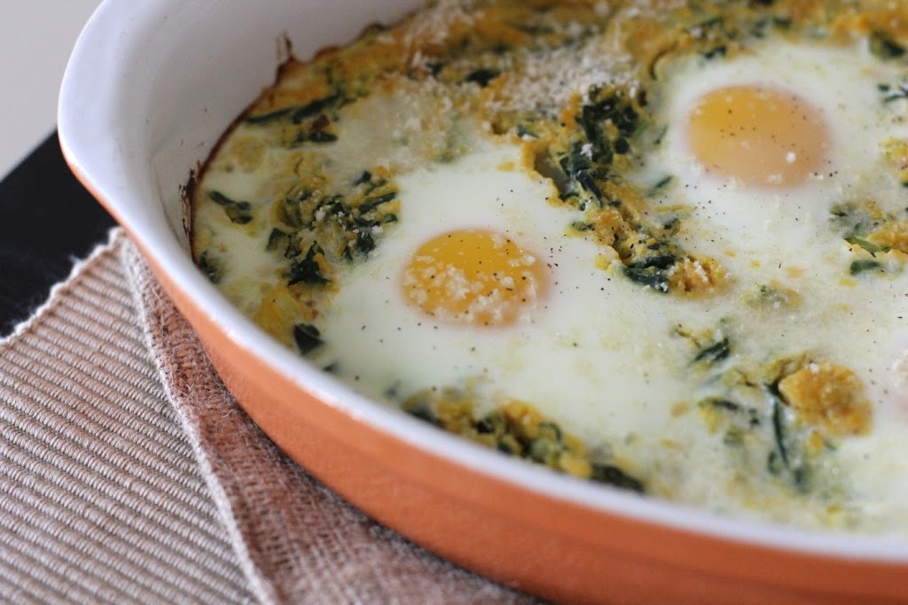 Baked Egg Recipe — Dishmaps