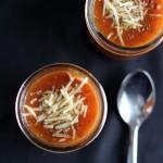 Roasted Garlic, Tomato and Black Bean Soup Recipe