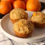 Page Tangerine Walnut Muffins Recipe