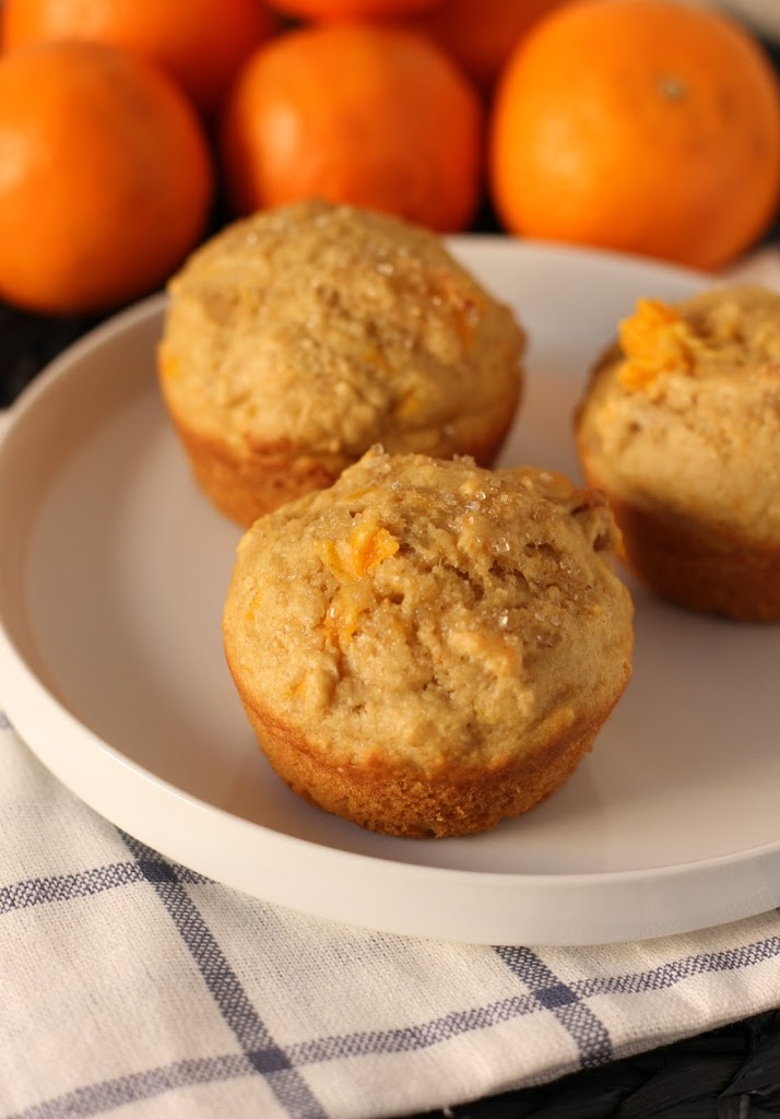 Page Tangerine Walnut Muffins Recipe | Fake Food Free