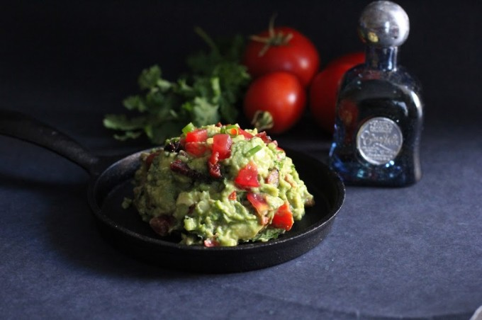 Spicy Spiked Bacon Guacamole | Fake Food Free