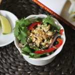Spicy Thai Salad with Minced Pork (Larb) Recipe from Everyday Thai Cooking
