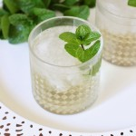 Cocktail Week: Lemongrass Mint Vanilla Cooler and Ginger Lemon Bourbon and Brandy with Ayala's Herbal Water®