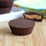 Easy 4 Ingredient Homemade Peanut Butter Cups Recipe