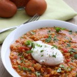 Poached-Egg-On-Spicy-Lentils-4
