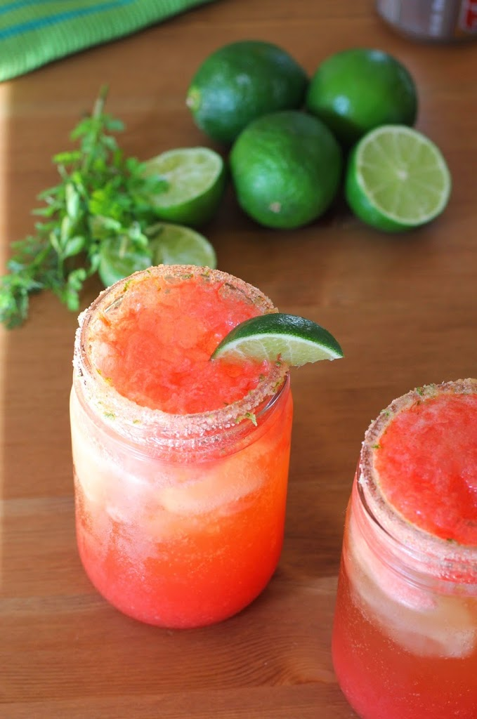 Spicy Cilantro-Lime Michelada Recipe | Fake Food Free