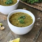 Kale-Pistachio-Soup