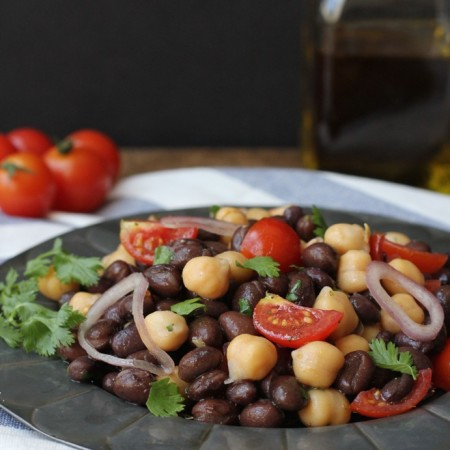 Chili Garlic Bean Salad 1