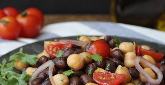 Chili Garlic Bean Salad Recipe