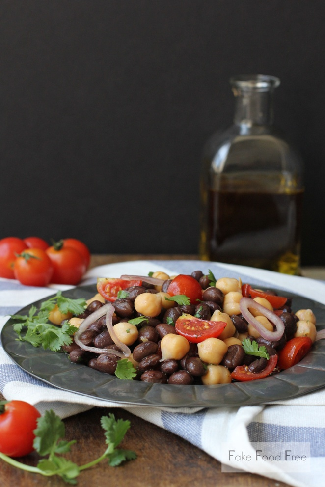 Chili Garlic Bean Salad 2