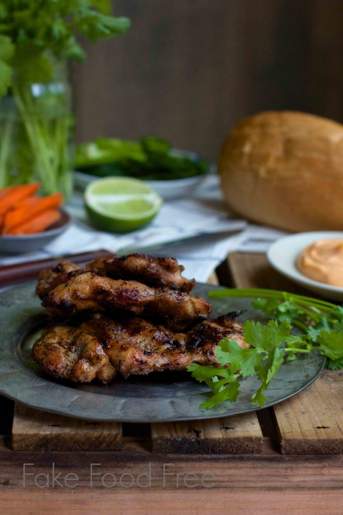 Hanoi Grilled Chicken from The Banh Mi Handbook | Fake Food Free