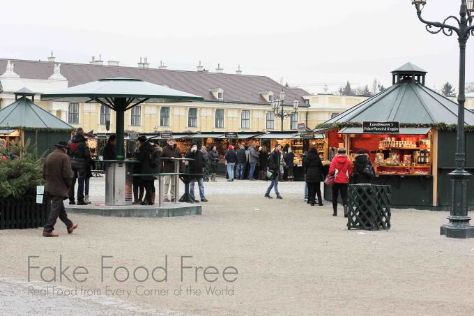 Cultural and Christmas Market & New Year's Market at Schönbrunn Palace | Fake Food Free