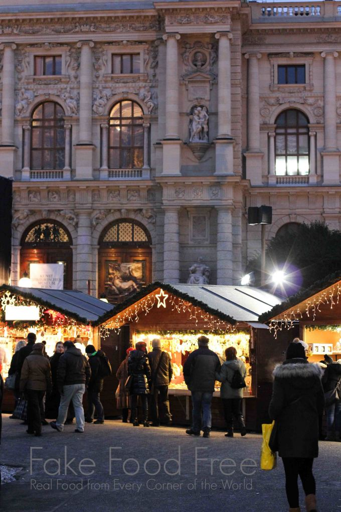 Christmas Village at Maria-Theresien-Platz | Fake Food Free