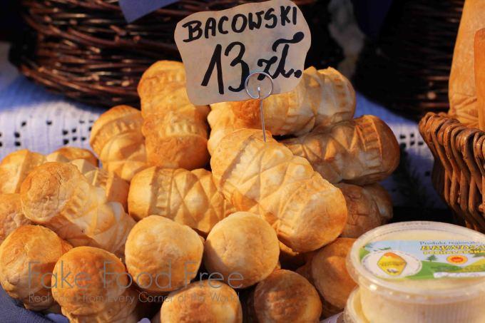Oscypek (smoked sheep cheese) in Krakow | Fake Food Free