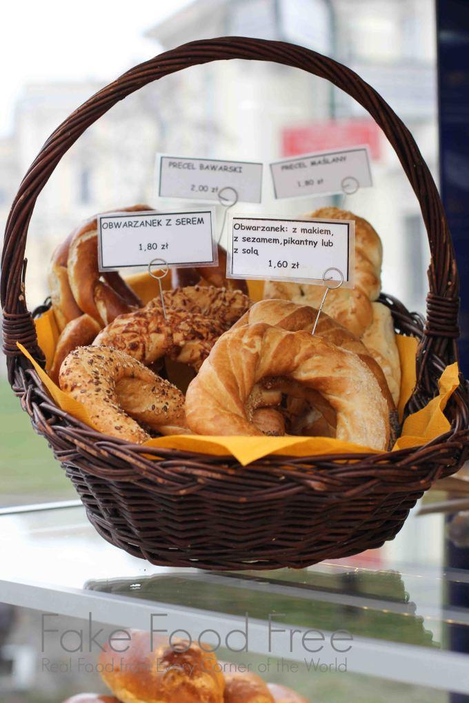 Polish obwarzanek in Krakow | Fake Food Free #food #travel