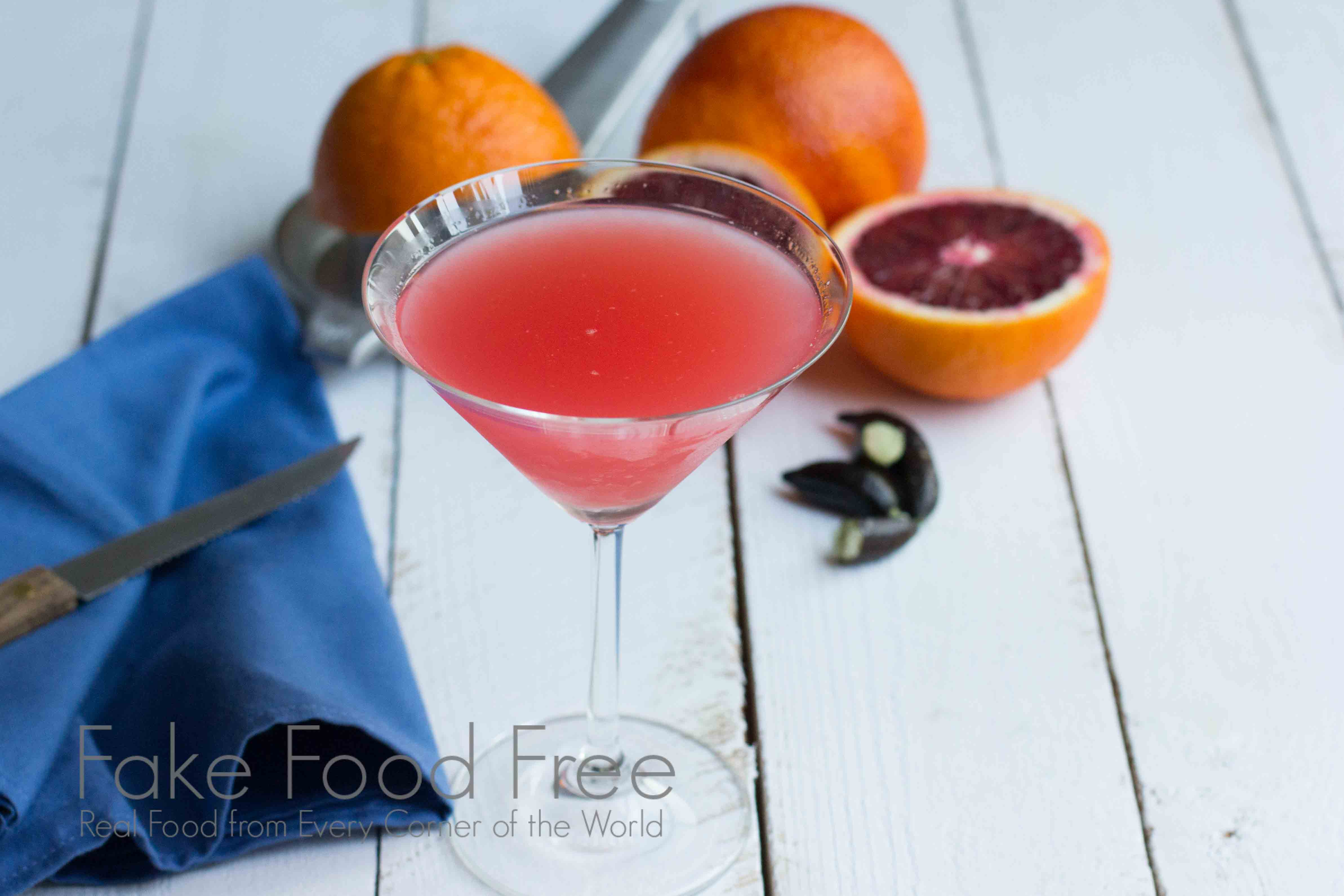 Finger Lime Martini 3