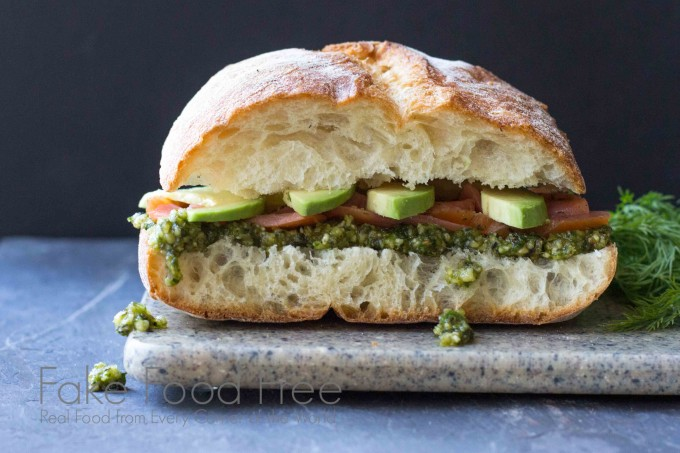 smoked salmon sandwich 4