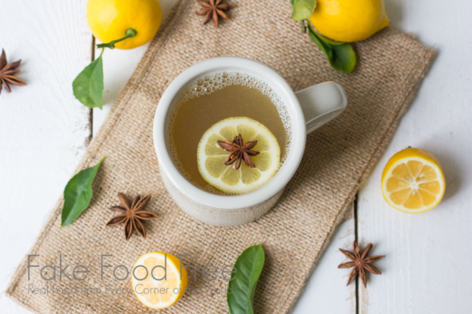 Meyer Lemon Winter Warmer