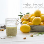 Lemon Walnut Dressing
