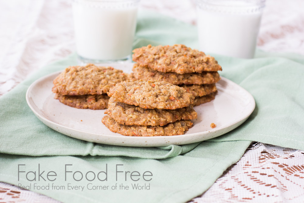 Candied Ginger and Carrot Cookies 2