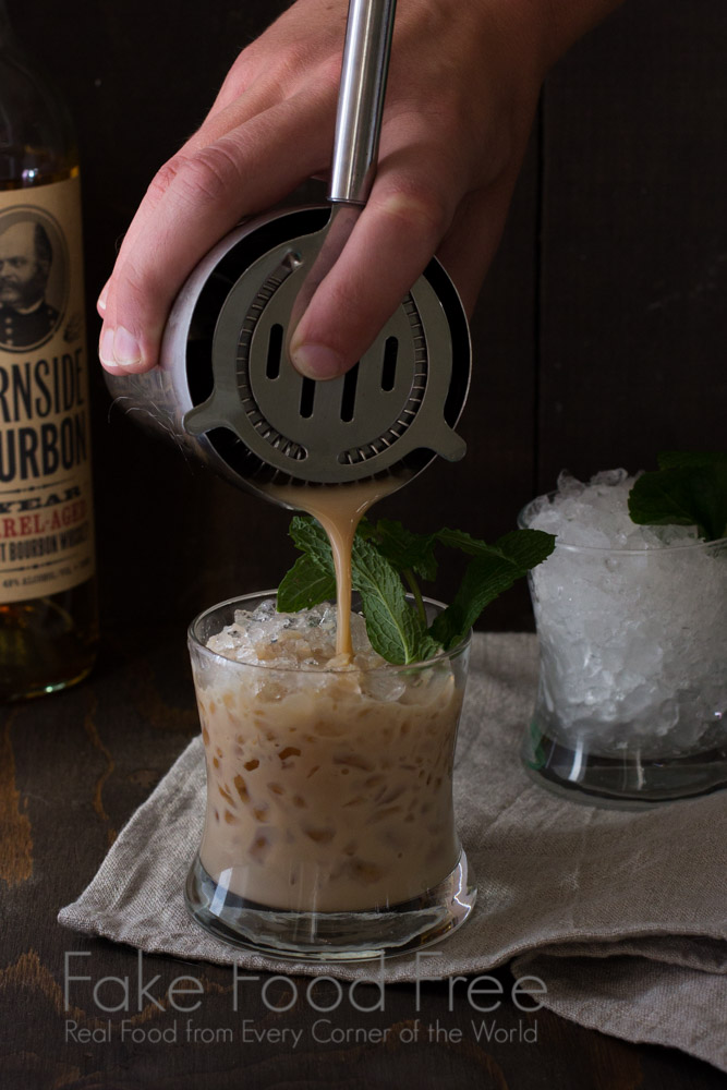 Mint Julep Bourbon Ball | Fake Food Free