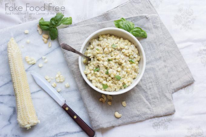 Cashew Creamed Corn 2