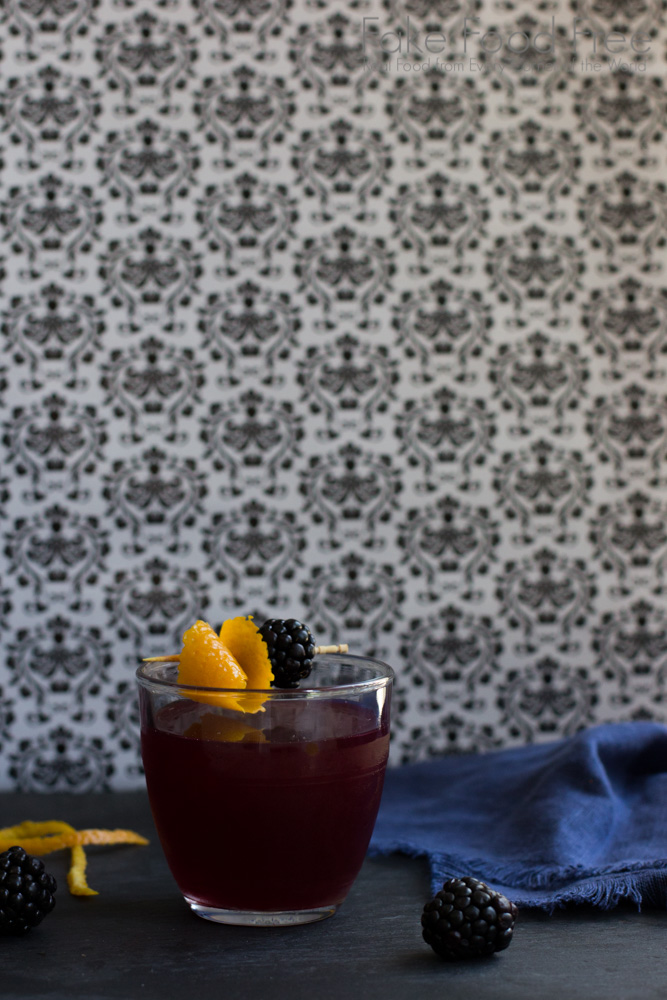 Blackberry Scofflaw Cocktail   Fake Food Free