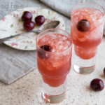 Grilled Cherry Mezcal Cocktails