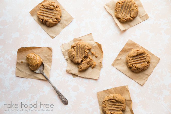 Maple Peanut Butter Cookies | Fake Food Free
