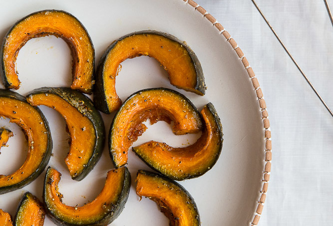 Roasted Maple and Black Pepper Kabocha
