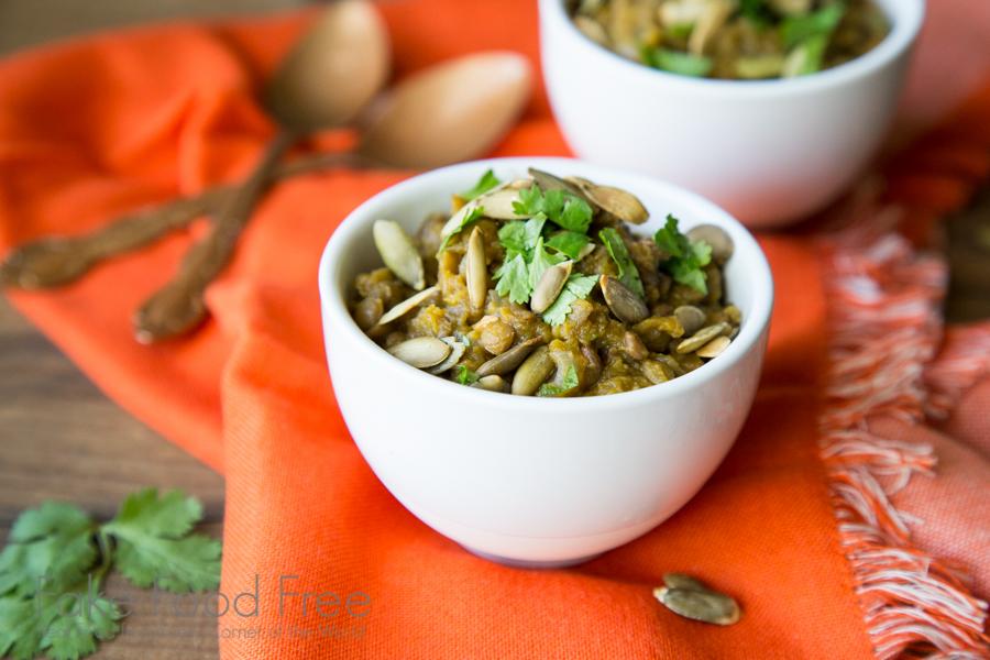 Acorn Squash Lentils 3