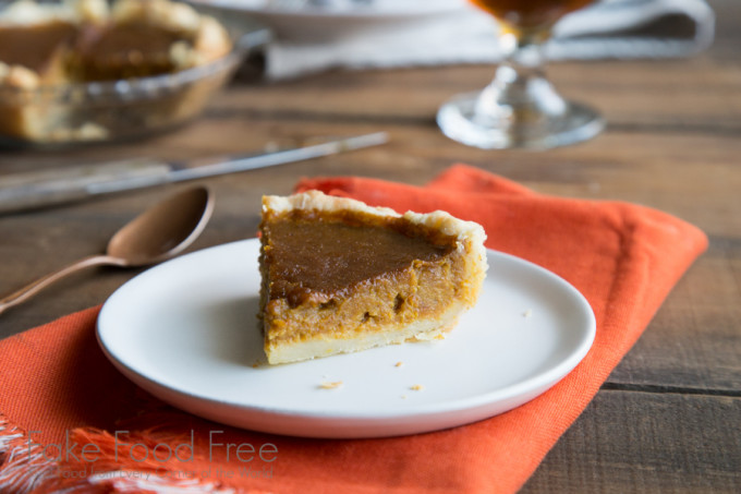 Ginger Molasses Pumpkin Pie Recipe for Two | Thanksgiving Cooking for Two | Fake Food Free